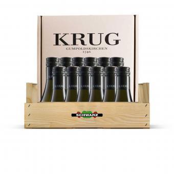 D) Wein-Kisterl WEISS Weingut Krug